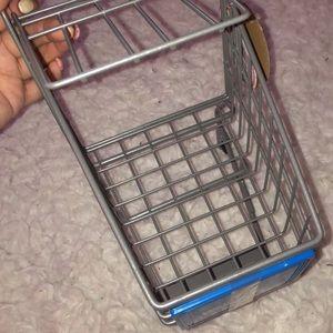 Mini Walmart shopping cart NWT